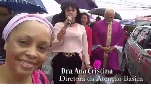 noticia Caminhada da Prevenção do câncer de mama em Guarulhos