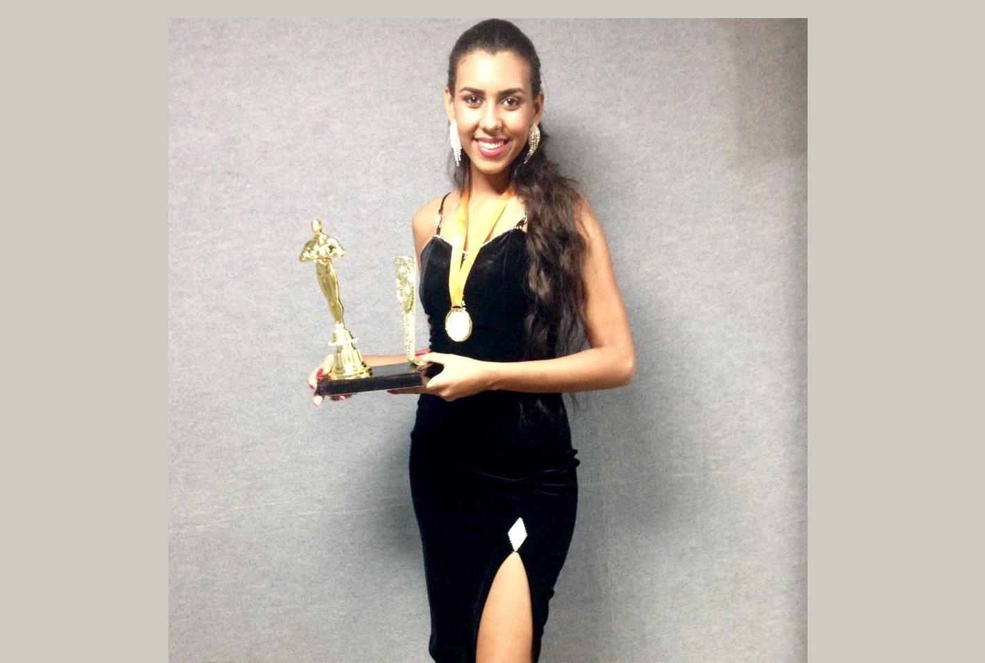 noticia Conheça Layane Lopes Carvalho, a Miss São Paulo Elegância Model 2017 que já conquistou 18 títulos de Miss