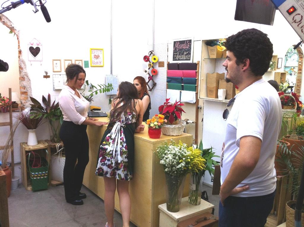 noticia Atriz internacional Cris Lopes grava participação especial no longa juvenil Bia (2.0) em São Paulo