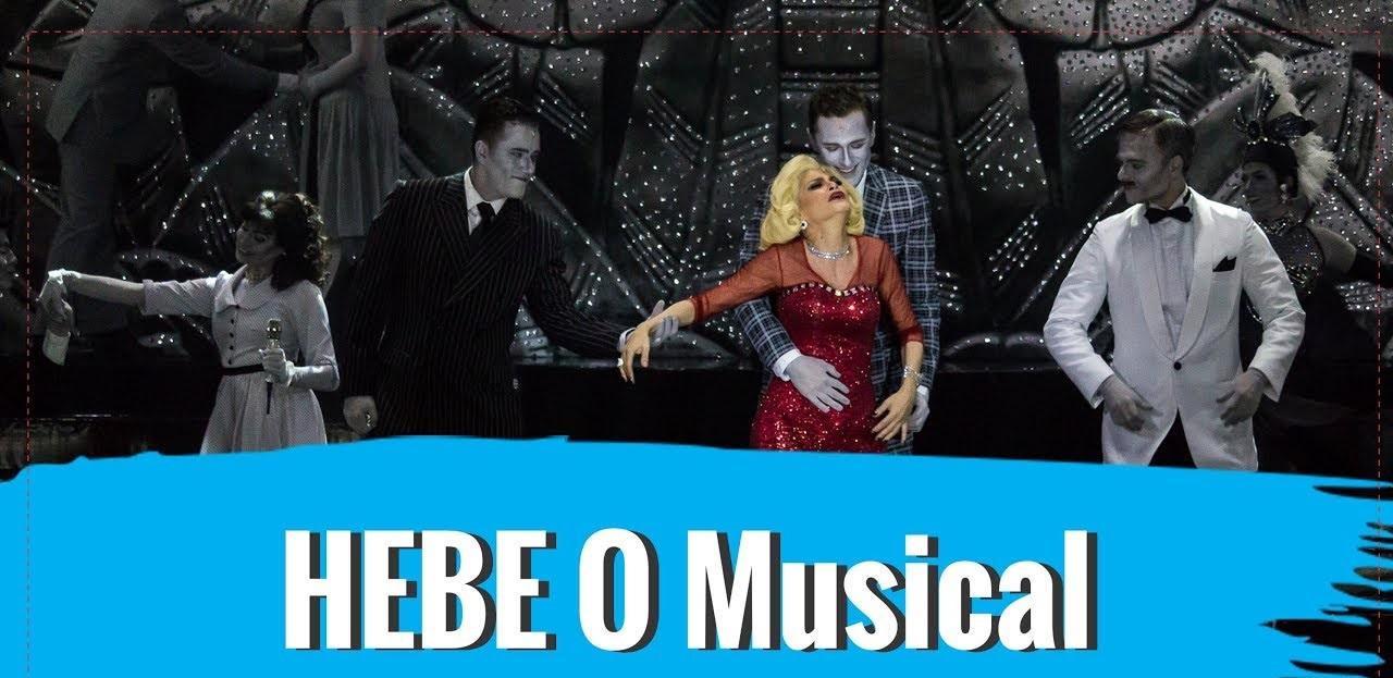 noticia Sucesso de público e crítica,  HEBE - O MUSICAL está em cartaz no Teatro Procópio Ferreira até dia 1º de abril de 2018