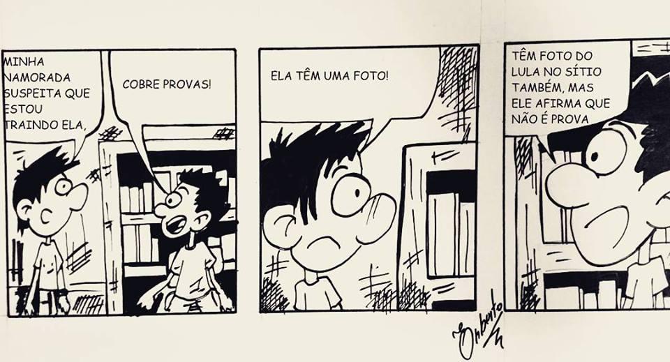 noticia TIRINHA DO PINGO