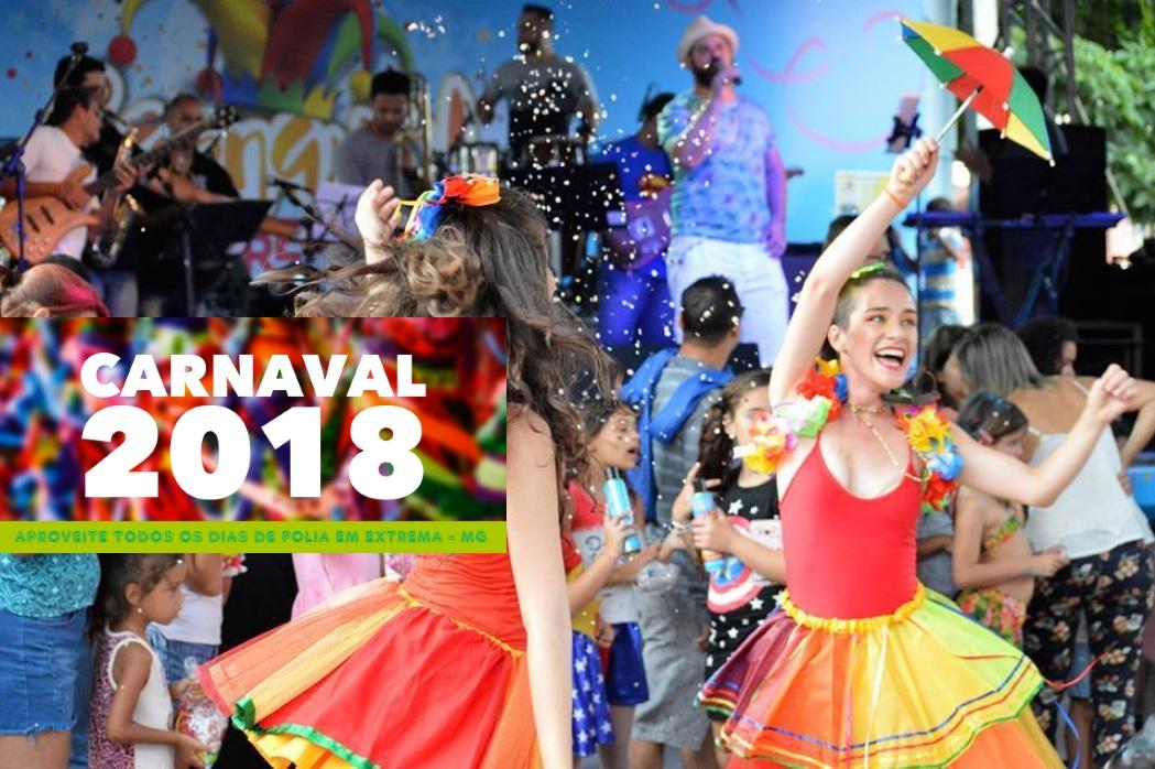 noticia Carnaval em Extrema MG. Por Leonardo Mantovani