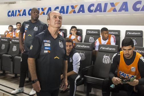 noticia Santos perde a primeira no comando do técnico Levir Culpi